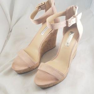 I.N.C. 7.5M Vidita Platform Wedge Sandals